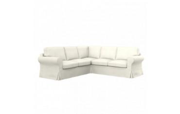 EKTORP housse de canapé d'angle 2+2 places