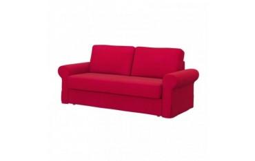 IKEA BACKABRO housse canapé convertible 3 places, Senses Red