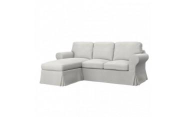IKEA EKTORP housse canapé 2 places +méridienne