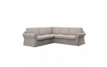 IKEA EKTORP housse de canapé d'angle 2+2 places