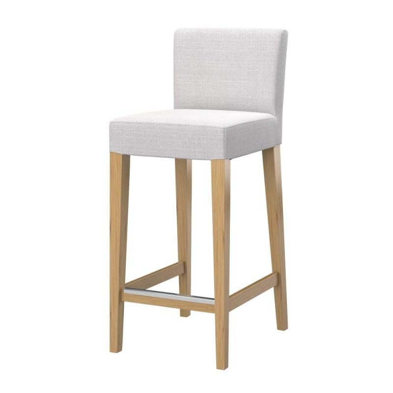 henriksdal housse pour tabouret bar avec dossier soferia housses pour vos meubles ikea. Black Bedroom Furniture Sets. Home Design Ideas