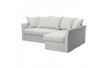 HOLMSUND housse canapé convertible d'angle
