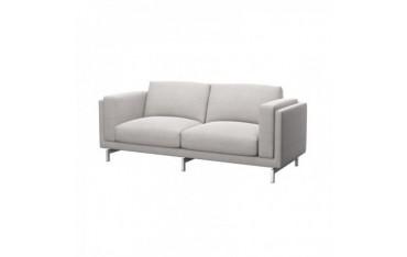 NOCKEBY housse de canapé 2 places